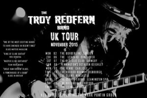 Troy Redfern Band on Tour
