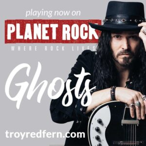Ghosts - on Planet Rock - July 5th